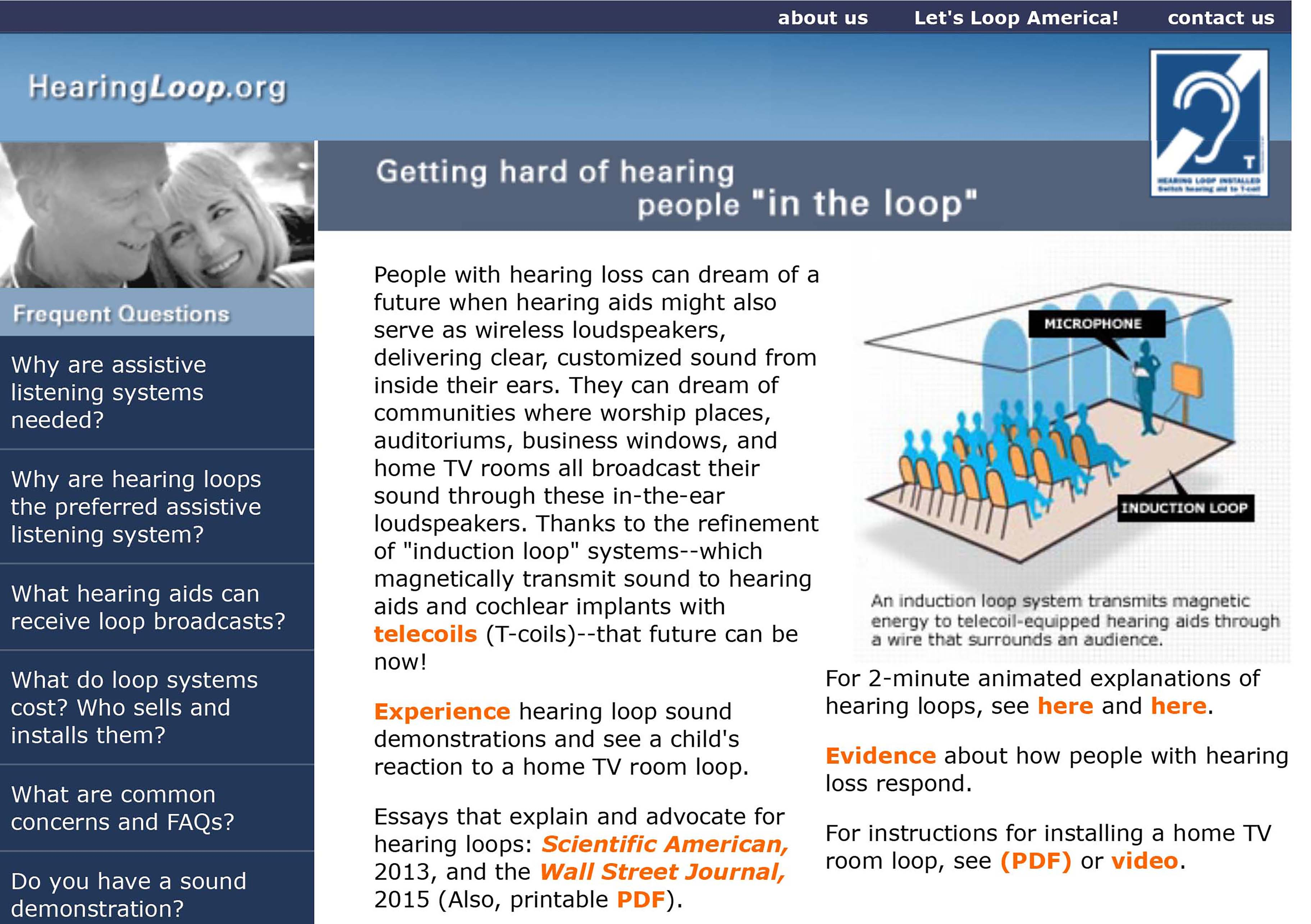 Inloop Hearing Wellness About Us Page